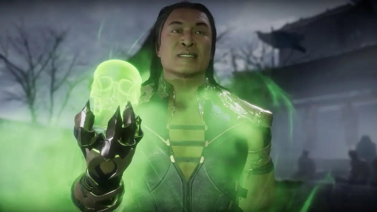 Shang Tsung Mortal Kombat 11 Screenshot