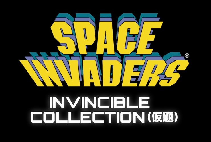 Space Invaders: Invincible Collection Logo