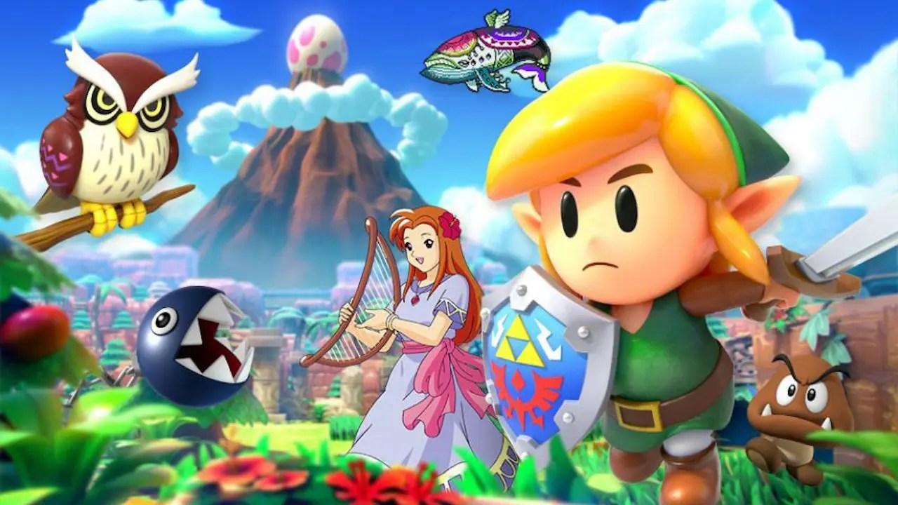 Super Smash Bros. Ultimate Link's Awakening Spirit Board Event Image
