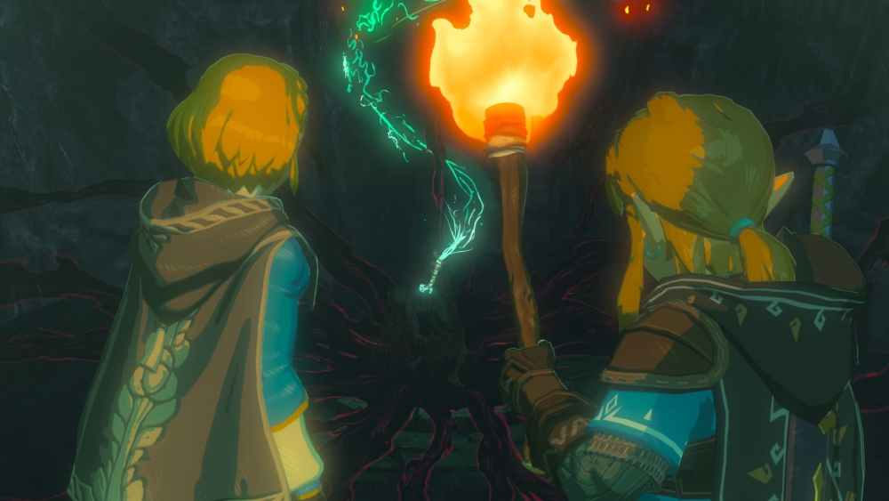 The Legend of Zelda: Breath of the Wild Sequel E3 2019 Screenshot 2