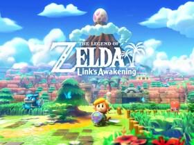 The Legend of Zelda: Link's Awakening Key Art