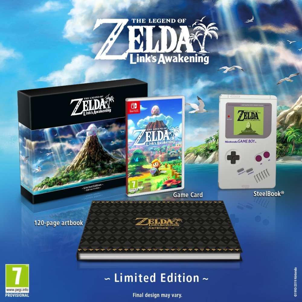 The Legend Of Zelda: Link's Awakening Limited Edition Photo