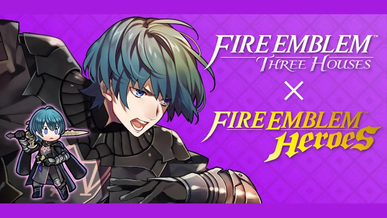 Byleth Fire Emblem Heroes Screenshot