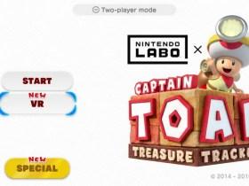 Captain Toad: Treasure Tracker VR Mode Screenshot