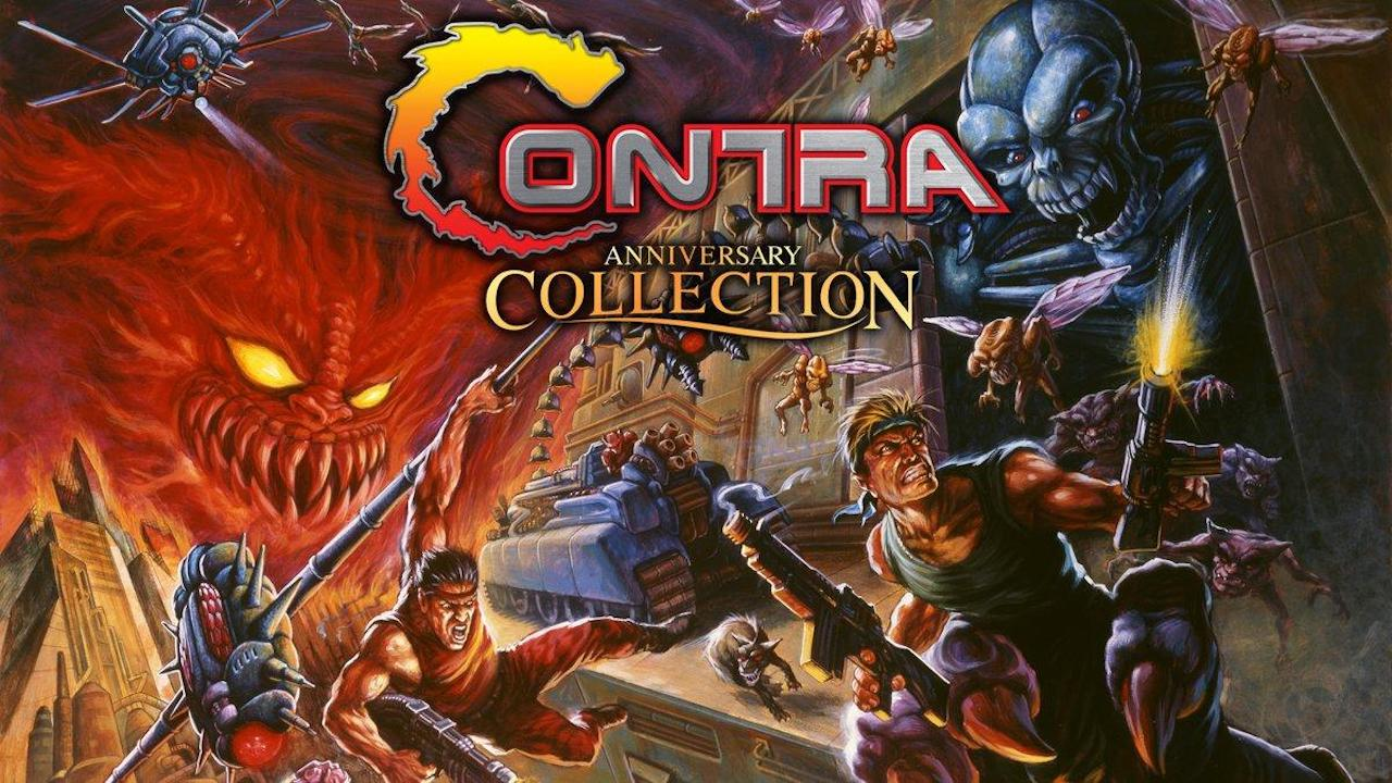 Contra Anniversary Collection Review Header