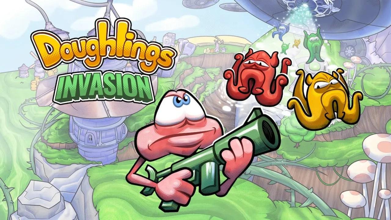 Doughlings: Invasion Logo