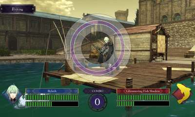 Fire Emblem: Three Houses Fishing Screenshot