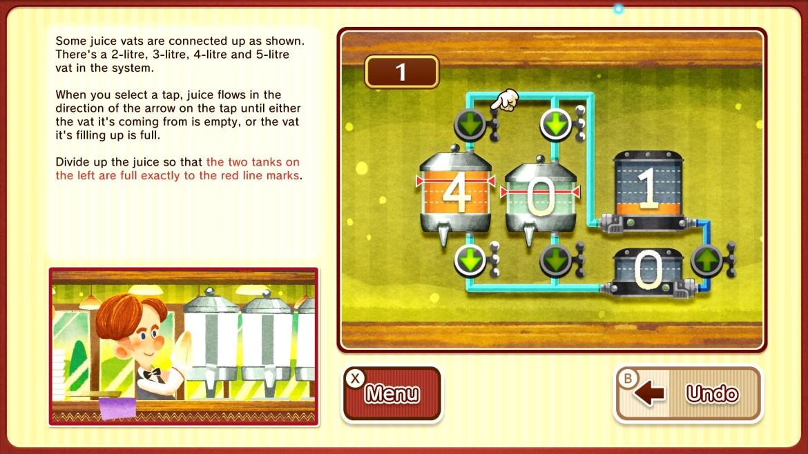 Layton's Mystery Journey: Katrielle and the Millionaires' Conspiracy Deluxe Edition Switch Screenshot 7