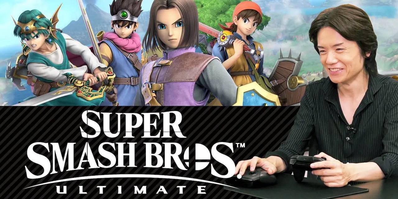 Masahiro Sakurai Super Smash Bros. Ultimate Photo