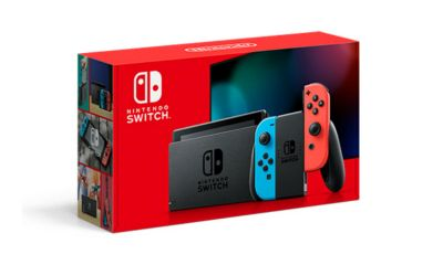 New Nintendo Switch Model Box Art