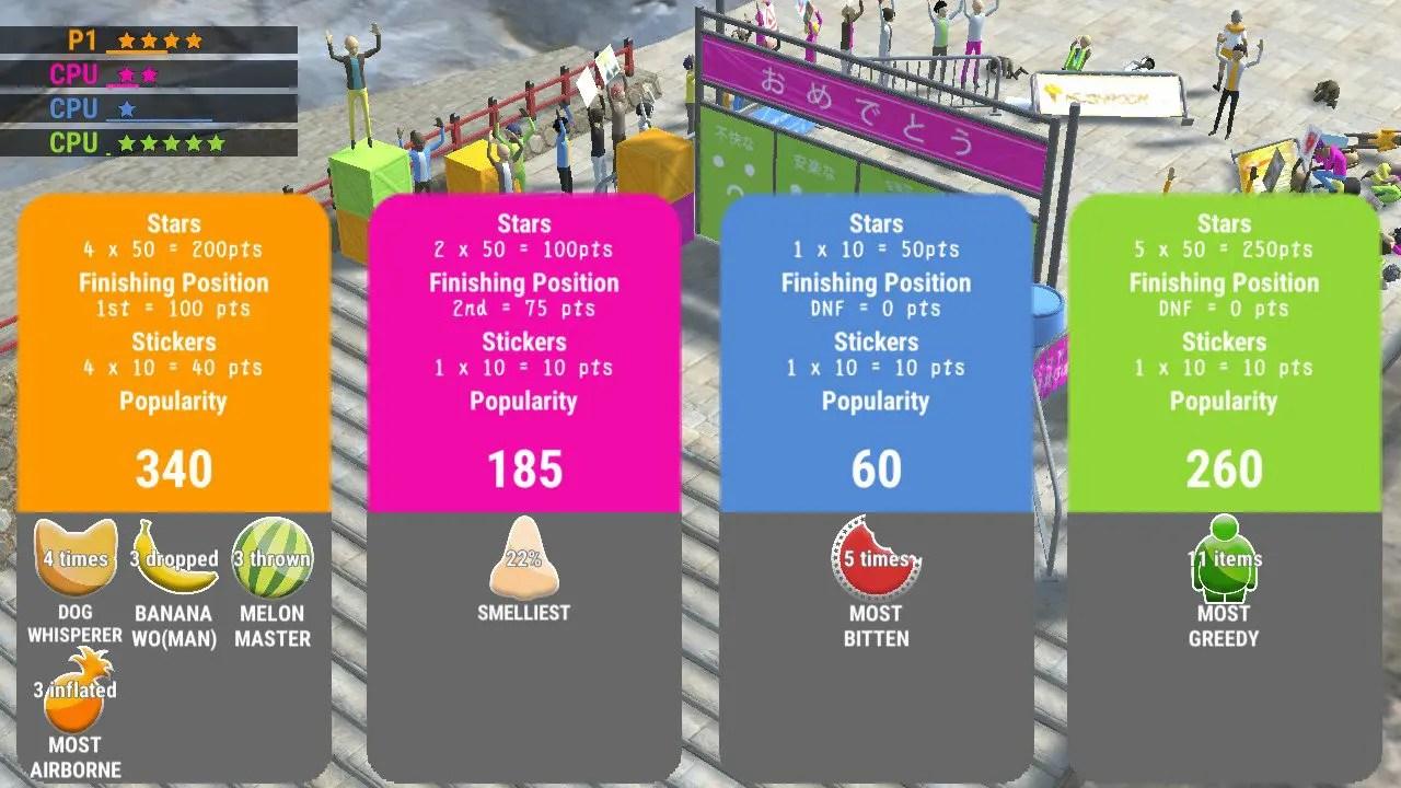 Nippon Marathon Review Screenshot 3