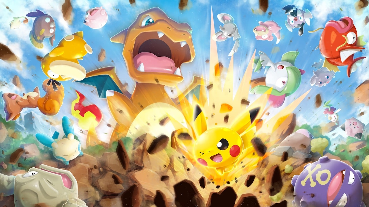 Pokémon Rumble Rush Review Header