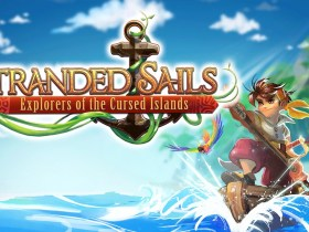 Stranded Sails: Explorers Of The Cursed Islands Key Art