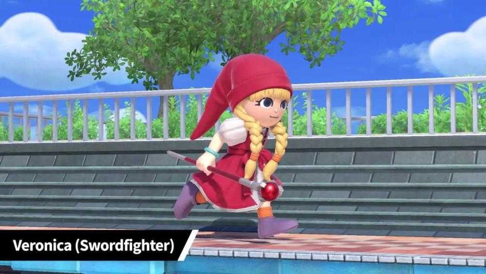 Super Smash Bros. Ultimate Veronica Mii Fighter Costume Screenshot