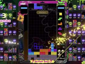 Tetris 99 Splatoon Crossover Theme Screenshot