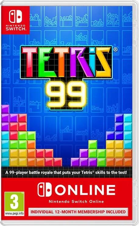Tetris 99 Switch Box Art