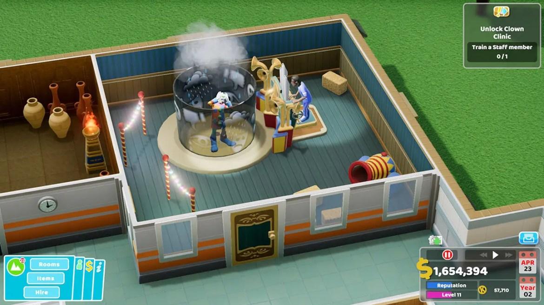 Two Point Hospital Nintendo Switch Screenshot 1