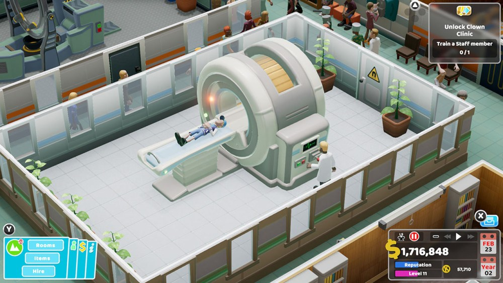 Two Point Hospital Nintendo Switch Screenshot 2