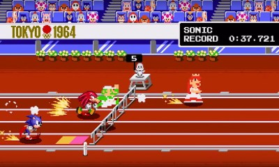 Classic 2D Events Mario And Sonic At The Olympic Games Tokyo 2020 Screenshot