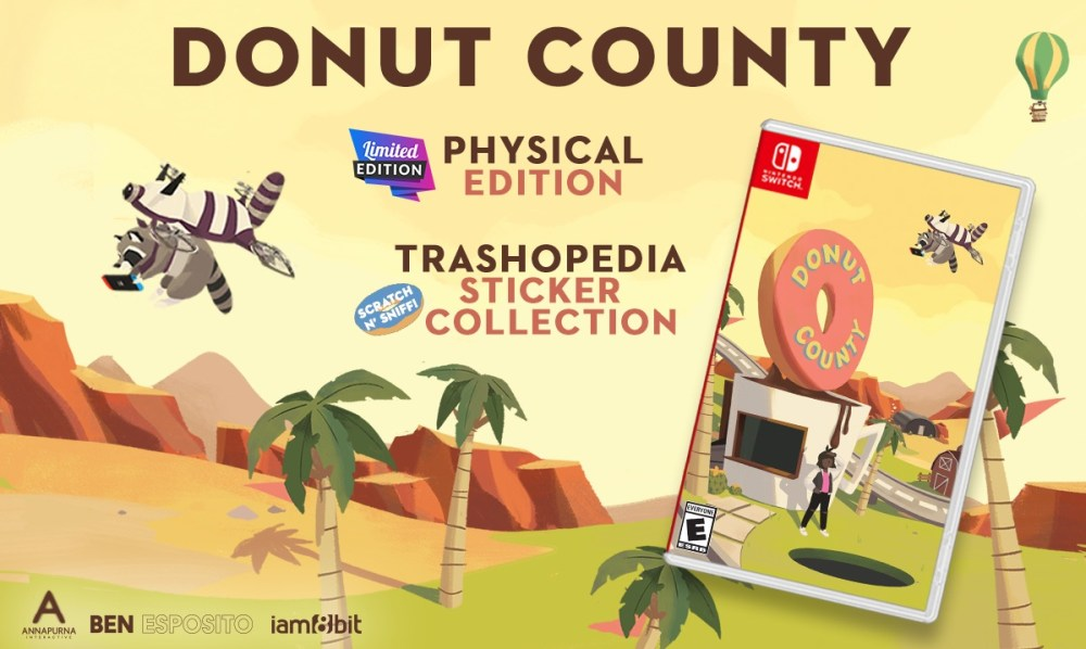 Donut County Switch Physical Release Image