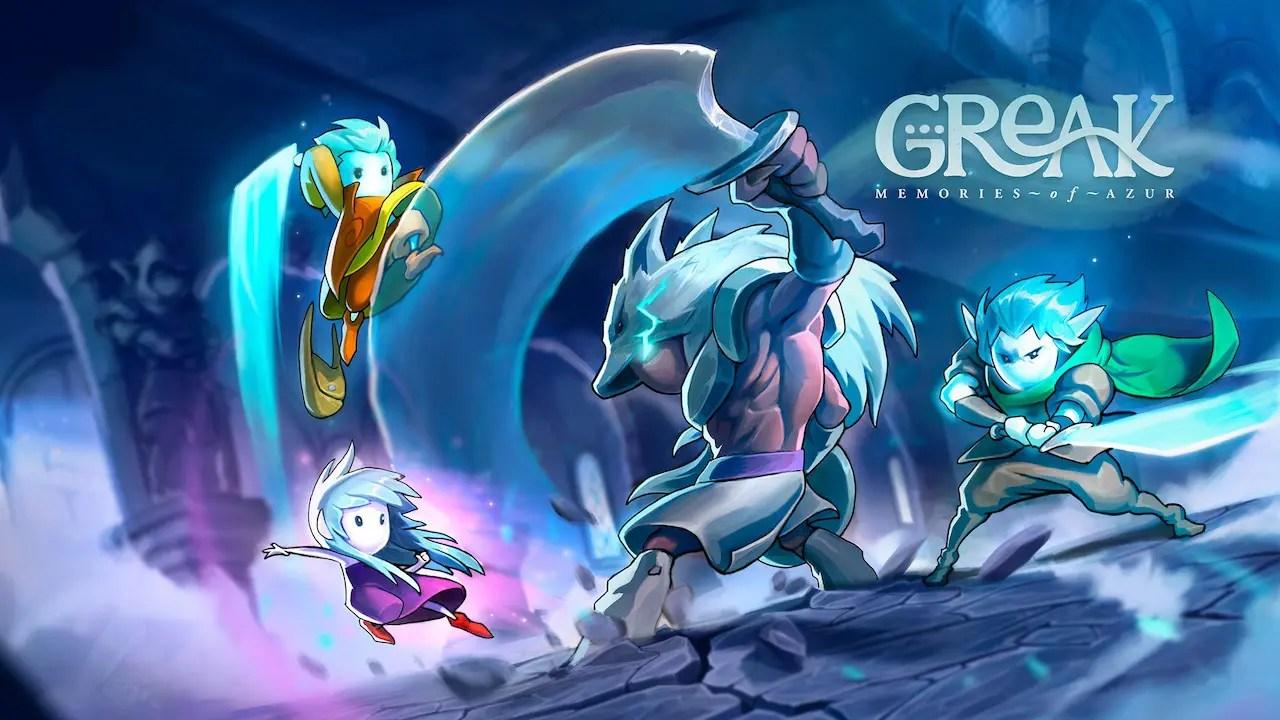 Greak: Memories Of Azur Logo