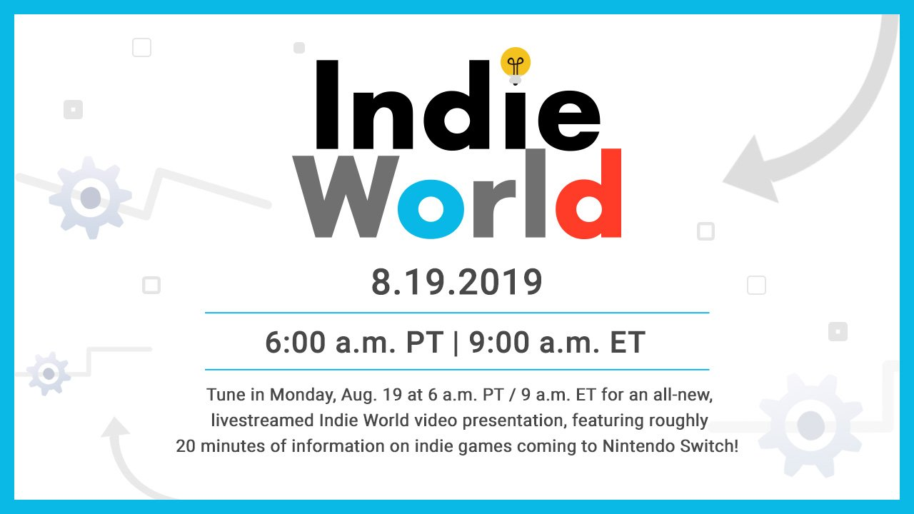Indie World Presentation Logo