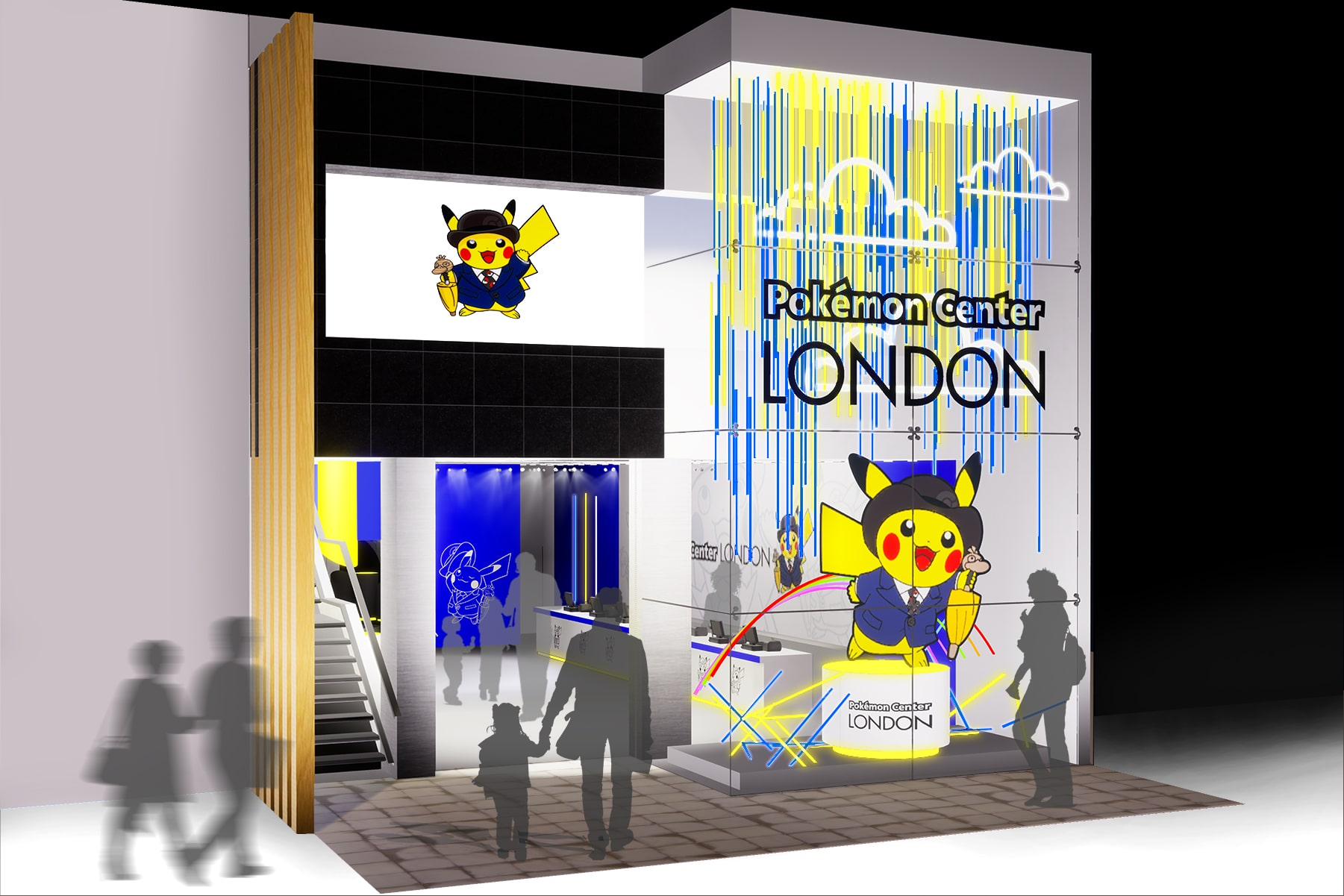 Pop-Up Pokémon Center London Mock Up