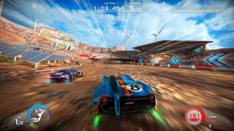 Rise: Race The Future Review Screenshot 1