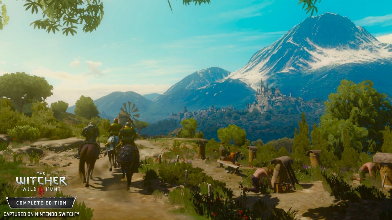 The Witcher 3 Switch Preview: This Ambitious Port Sets An