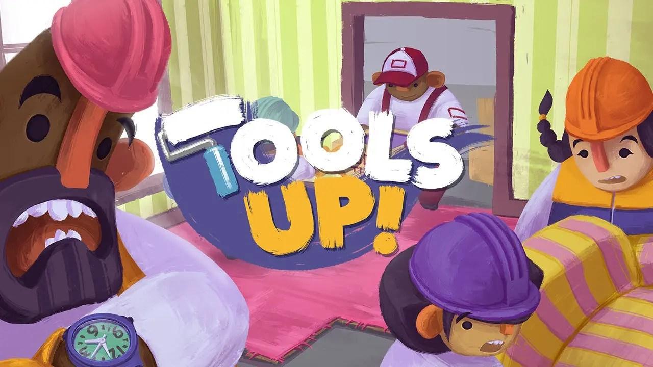 Tools Up! Logo