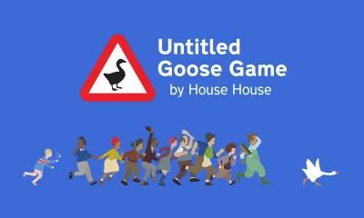 Untitled Goose Game Logo