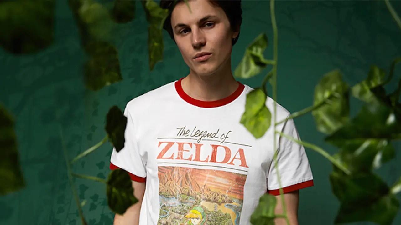 Zavvi The Legend Of Zelda Clothing Collection Photo