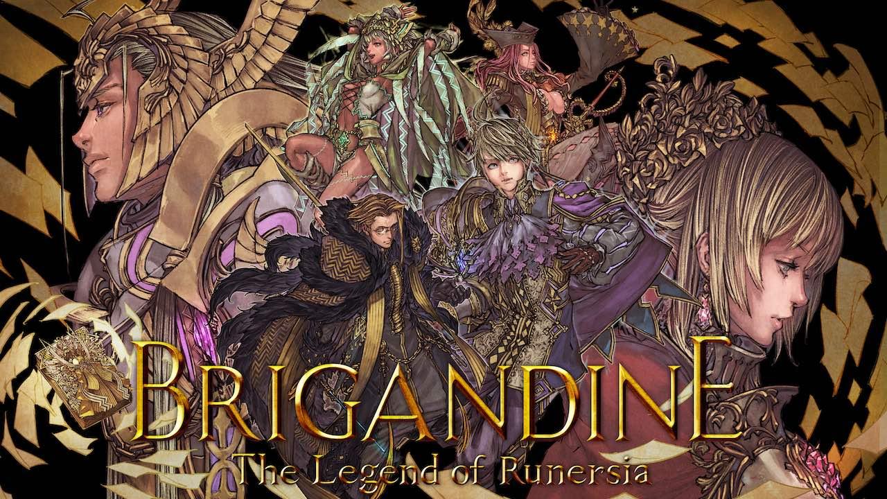 Brigandine: The Legend Of Runersia Logo