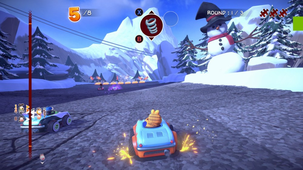Garfield Kart Furious Racing Screenshot September 2019 6