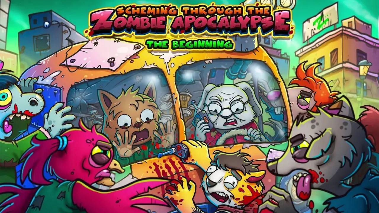 Scheming Through The Zombie Apocalypse: The Beginning Logo