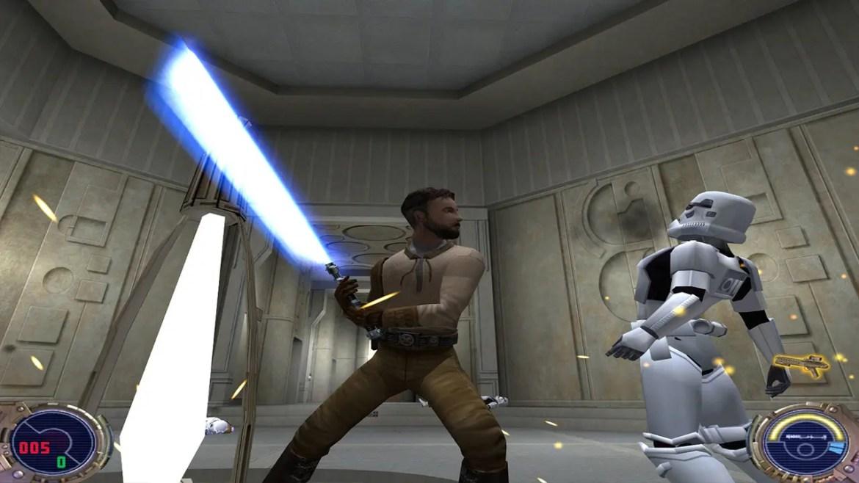 Star Wars Jedi Knight II: Jedi Outcast Screenshot 1