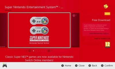Super Nintendo Entertainment System - Nintendo Switch Online Screenshot