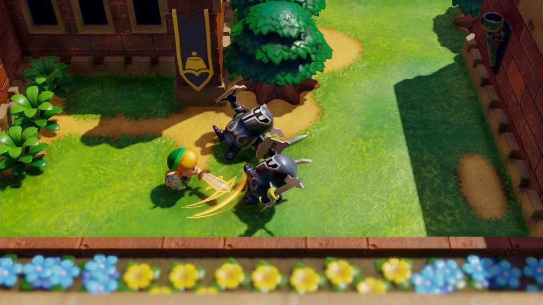 The Legend Of Zelda: Link's Awakening Review Screenshot 2