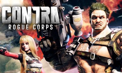 Contra: Rogue Corps Review Header