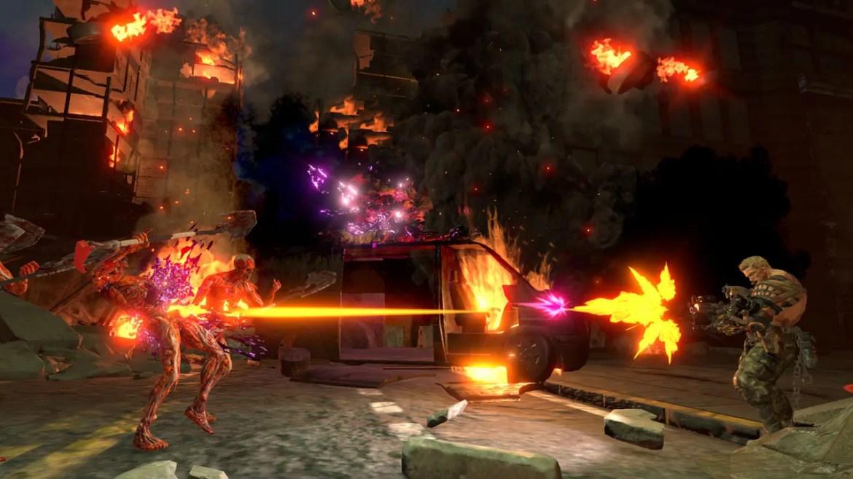 Contra: Rogue Corps Review Screenshot 1