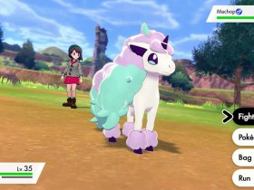 Galarian Ponyta Pokémon Sword And Shield Screenshot