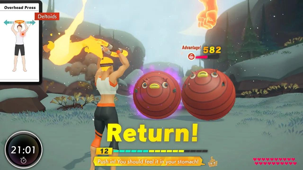 Ring Fit Adventure Screenshot