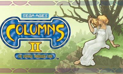 SEGA AGES Columns II: A Voyage Through Time Logo