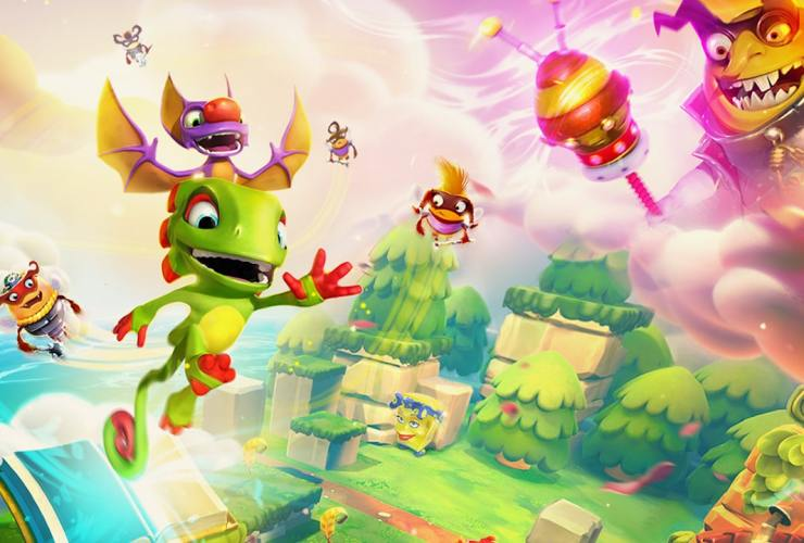 Yooka-Laylee And The Impossible Lair Review Header