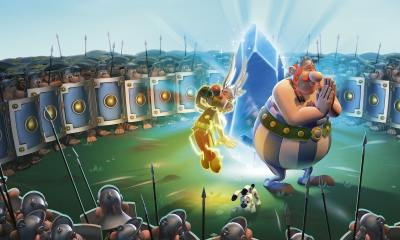 Asterix And Obelix XXL3: The Crystal Menhir Keyart