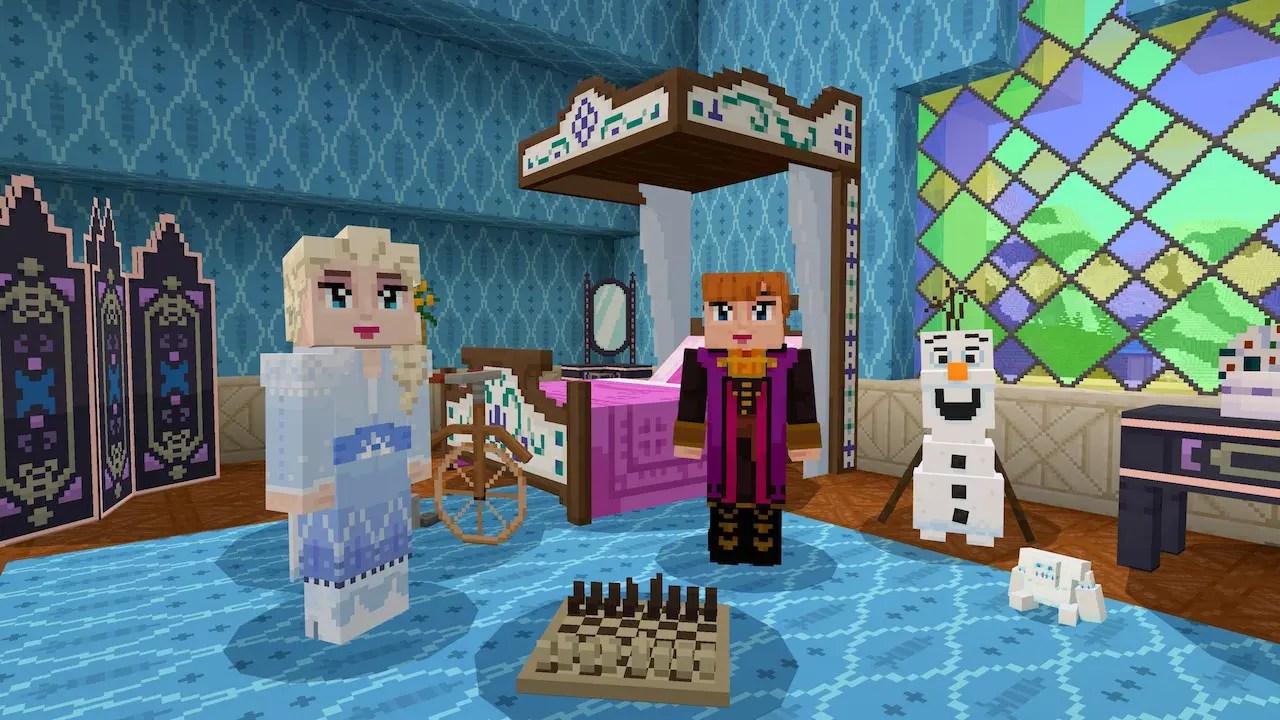 Frozen II Minecraft Adventure Map Screenshot