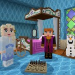 Frozen II Minecraft Adventure Map Screenshot