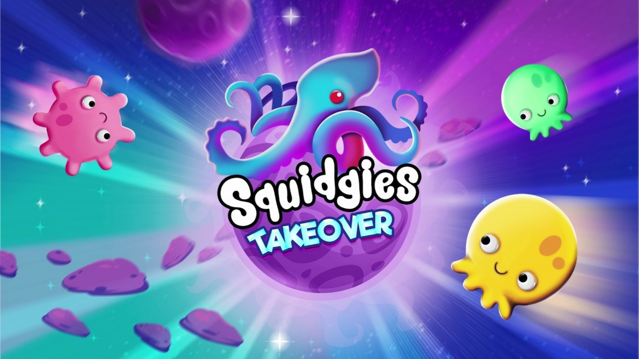Squidgies Takeover Logo