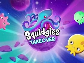Squidgies Takeover Logo