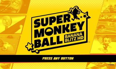 Super Monkey Ball: Banana Blitz HD Review Header